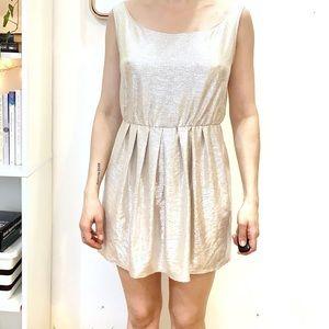NWOT Oh My Love Shiny Dress